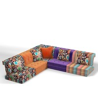 "ROCHE BOBOIS SECTIONAL CHROMATERAPY SOFA KID""S MODERN CONTEMPORARY DESIGNERS"